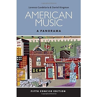 American Music: A Panorama, Concise (with Digital Music Download Card Music CD Printed Access Card), Used Book (9781285446219)