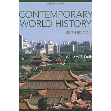 Contemporary World History, Used Book (9781285447902)