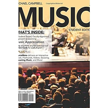 MUSIC 2 (with CourseMate Printed Access Card), New Book (9781285454054)