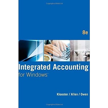 Integrated Accounting (with General Ledger CD-ROM) (9781285462721)