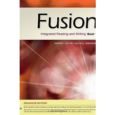 Fusion Book 1, Enhanced Edition: Integrated Reading and Writing, Used Book (9781285464992)