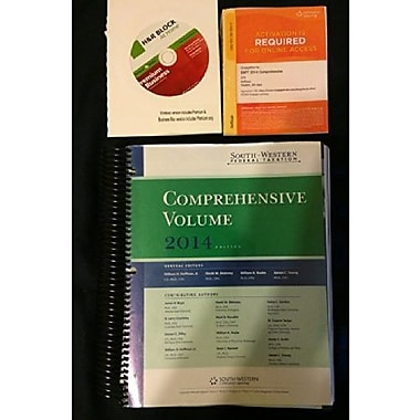 Comprehensive Volume 2014 Edition South-western Federal Taxation, Used Book (9781285717944)