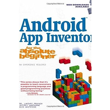 Android App Inventor for the Absolute Beginner, New Book (9781285733333)
