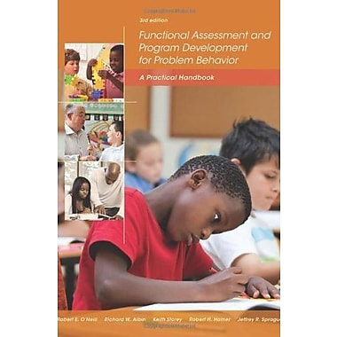 Functional Assessment and Program Development for Problem Behavior: A Practical Handbook, Used Book (9781285734828)