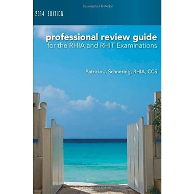 Professional Review Guide for the RHIA & RHIT Examinations, 2014 Edition with Premium Website Printed Access Card, New Book