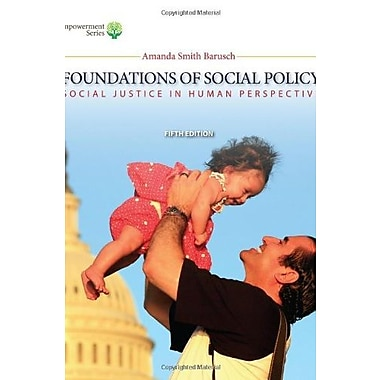 Brooks/Cole Empowerment Series: Foundations of Social Policy (9781285751603), New Book