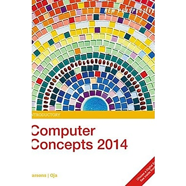 New Perspectives on Computer Concepts 2014, Introductory, New Book (9781285766997)