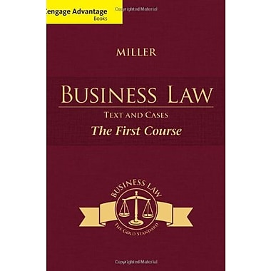 Cengage Advantage Books: Business Law: Text and Cases - The First Course, New Book (9781285770185)