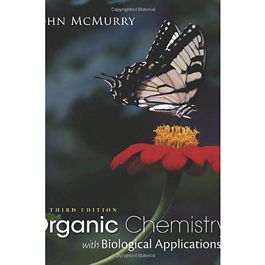 Organic Chemistry with Biological Applications, New Book (9781285842912)