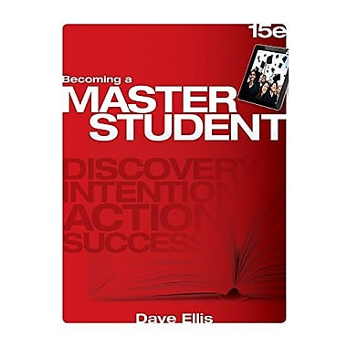 Becoming a Master Student, New Book (9781305081147)
