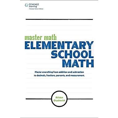 Master Math: Elementary School Math, Used Book (9781305085169)