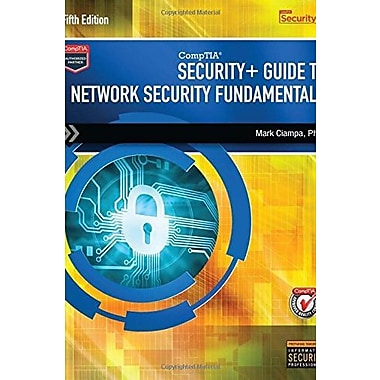 CompTIA Security+ Guide to Network Security Fundamentals, New Book (9781305093911)