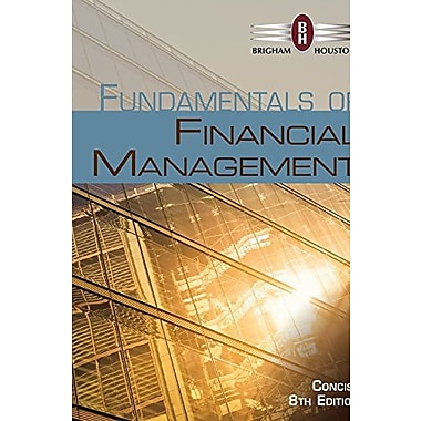 Fundamentals of Financial Management, Concise Edition, New Book (9781305094994)