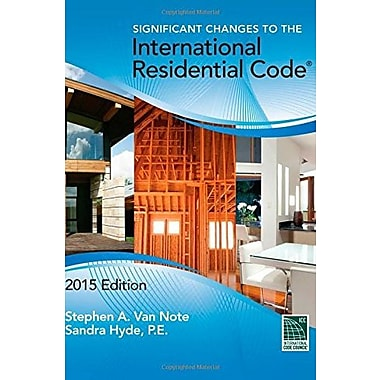 Significant Changes to the International Residential Code, 2015 Edition (9781305254732)