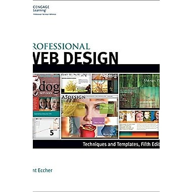 Professional Web Design: Techniques and Templates, Used Book (9781305257528)