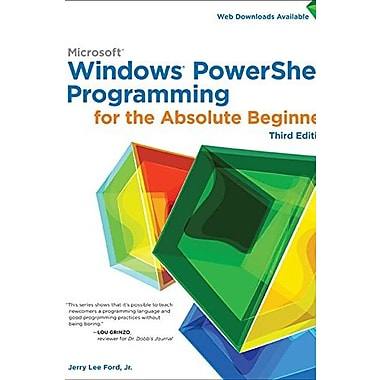 Windows PowerShell Programming for the Absolute Beginner, 3rd (9781305260344)