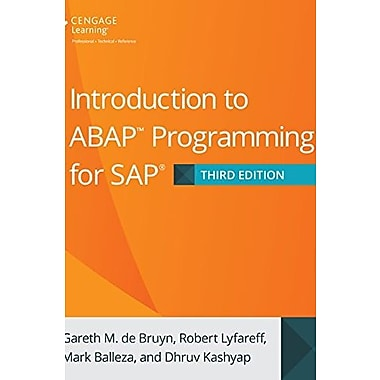 Introduction to ABAP Programming for SAP, 3rd Edition, Used Book (9781305266476)