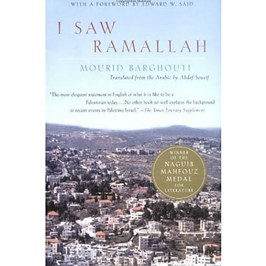 I Saw Ramallah, New Book (9781400032662)