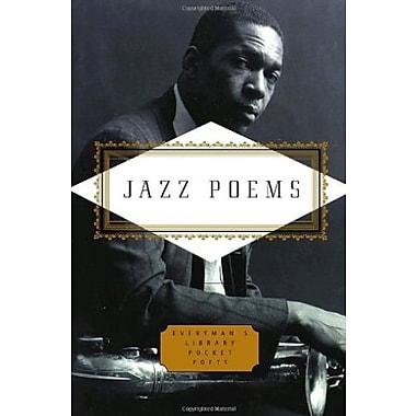Jazz Poems (Everyman's Library Pocket Poets), New Book (9781400042517)