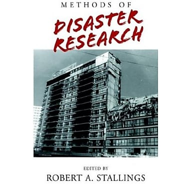Methods of Disaster Research, New Book (9781401079703)