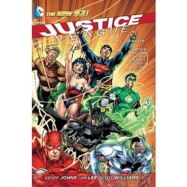 Justice League, Vol. 1: Origin (The New 52), Used Book (9781401237882)