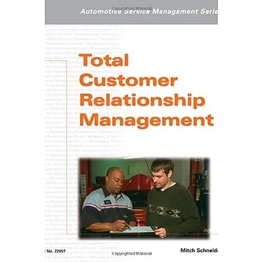 Automotive Service Management: Total Customer Relationship Management, Used Book, (9781401826574)