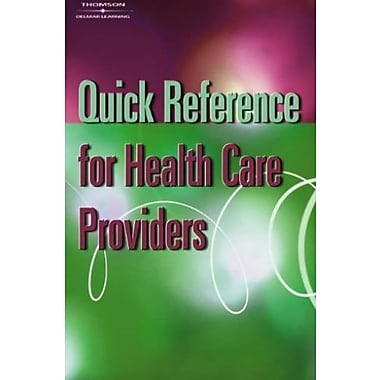 Quick Reference for Health Care Providers, Used Book (9781401858087)