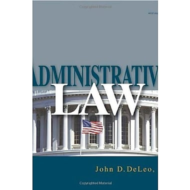 Administrative Law (9781401858773)