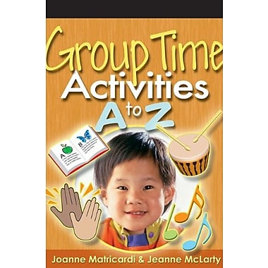 Group Time Activities A to Z, Used Book (9781401872373)