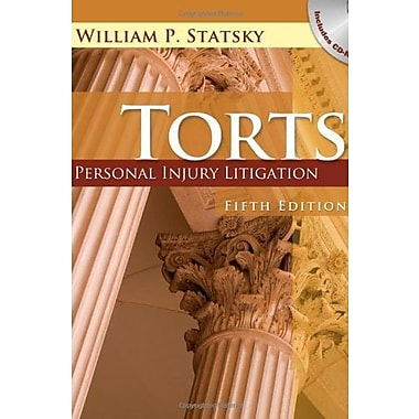 Torts: Personal Injury Litigation, New Book (9781401879624)