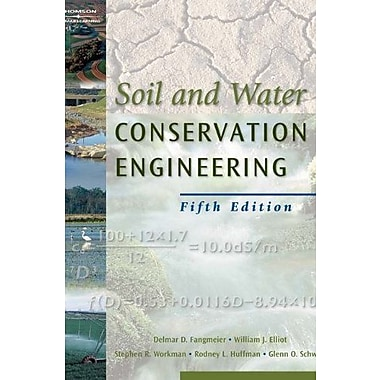 Soil and Water Conservation Engineering, New Book (9781401897499)