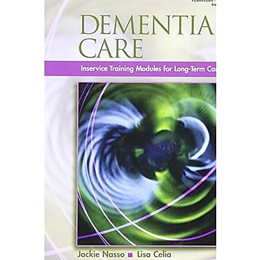 Dementia Care: InService Training Modules for Long-Term Care, New Book (9781401898588)