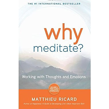 Why Meditate: Working with Thoughts and Emotions, New Book (9781401926632)