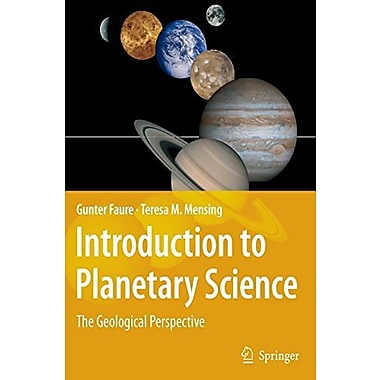 Introduction to Planetary Science: The Geological Perspective, Used Book (9781402052330)