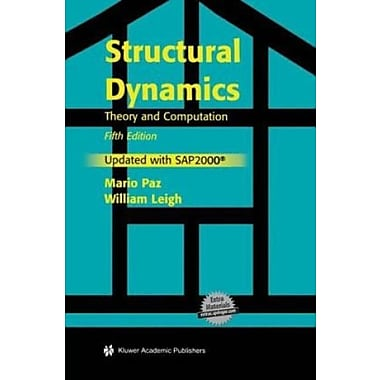 Structural Dynamics: Theory and Computation, Used Book (9781402076671)
