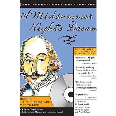 A Midsummer Night's Dream (Sourcebooks Shakespeare; Book & CD), New Book (9781402206894)