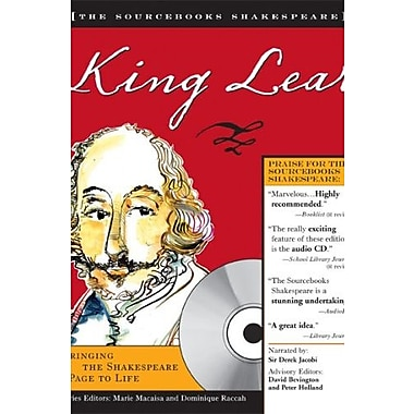 King Lear (The Sourcebooks Shakespeare), New Book (9781402208300)