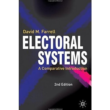 Electoral Systems: A Comparative Introduction, New Book (9781403912312)