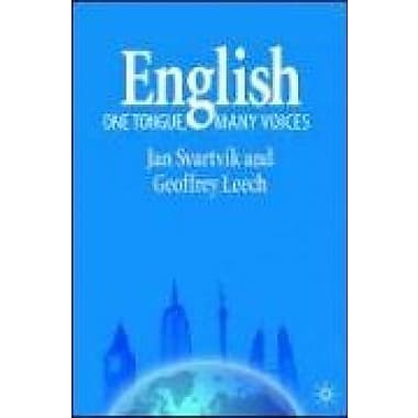 English - One Tongue, Many Voices, New Book (9781403918307)