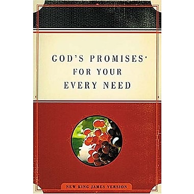 God's Promises for Your Every Need, New Book (9781404113534)