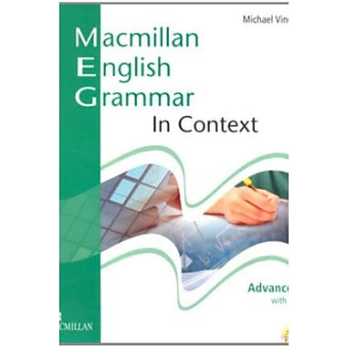 Macmillan English Grammar in Context Advanced with Key and CD-ROM Pack, New Book (9781405070546)