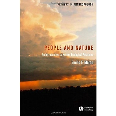 People and Nature: An Introduction to Human Ecological Relations, Used Book (9781405105729)