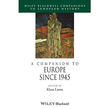A Companion to Europe Since 1945 (Blackwell Companions to European History), New Book (9781405106122)