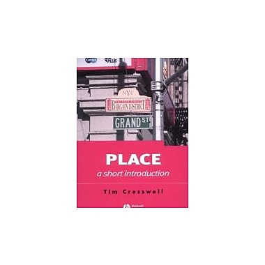 Place: A Short Introduction, Used Book (9781405106726)