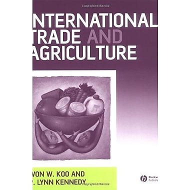 International Trade and Agriculture: Theories and Practices, Used Book (9781405108003)