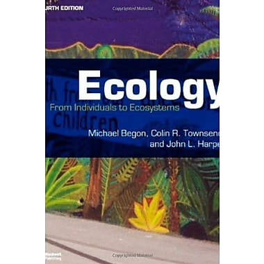 Ecology: From Individuals to Ecosystems, Used Book (9781405111171)