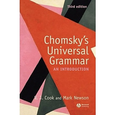 Chomsky's Universal Grammar: An Introduction, New Book (9781405111874)