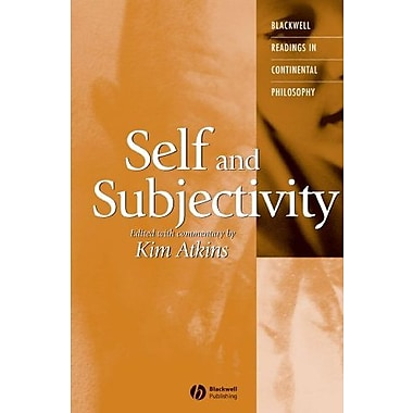 Self and Subjectivity (Blackwell Readings in Continental Philosophy, Vol. 8), New Book (9781405112048)