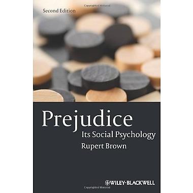 Prejudice: Its Social Psychology, Used Book (9781405113069)