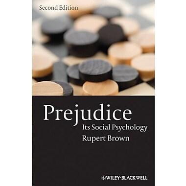 Prejudice: Its Social Psychology, Used Book (9781405113076)